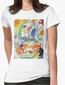 Kandinsky - Improvisation 31 Womens Fitted T-Shirt