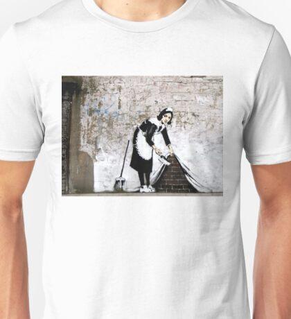 Banksy - Sweep it under the carpet N°1 Unisex T-Shirt