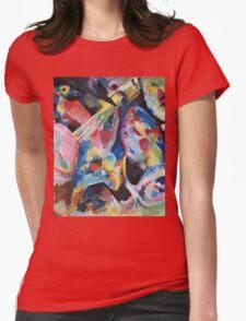 Kandinsky - Improvisation Deluge 1913  Womens Fitted T-Shirt