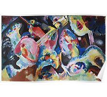 Kandinsky - Improvisation Deluge 1913  Poster