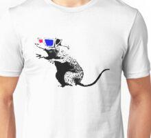 Banksy - 3D Rat Unisex T-Shirt