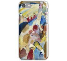 Kandinsky - Landscape With Red Spots, No. 2 iPhone Case/Skin