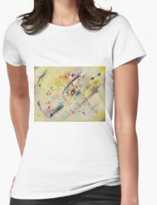 Kandinsky - Light Picture Womens Fitted T-Shirt