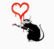 Banksy - Love Rat Unisex T-Shirt
