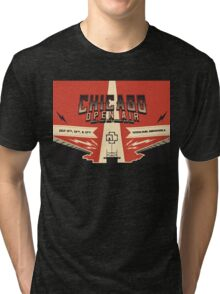 Chicago Open Air Music Festival 3 Tri-blend T-Shirt