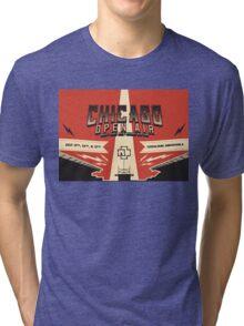 Chicago Open Air Music Festival 3 Tri-blend T-Shirt