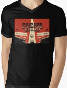 Chicago Open Air Music Festival 3 Mens V-Neck T-Shirt