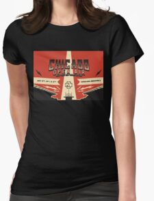 Chicago Open Air Music Festival 3 Womens Fitted T-Shirt