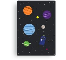 All of Space and Time Canvas Print