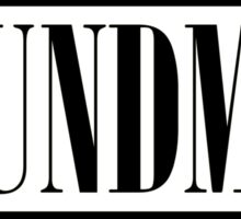 Soundman (Black) Sticker