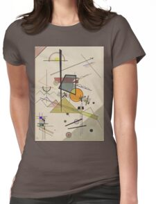 Kandinsky - Melodisch  Womens Fitted T-Shirt