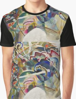Kandinsky - Painting With White Border Graphic T-Shirt