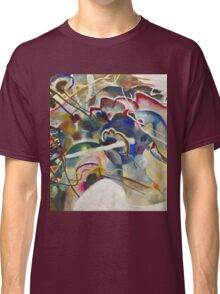 Kandinsky - Painting With White Border Classic T-Shirt