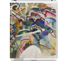Kandinsky - Painting With White Border iPad Case/Skin