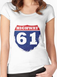 Highway 61 Women's Fitted Scoop T-Shirt