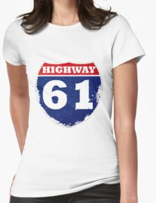 Highway 61 Womens Fitted T-Shirt