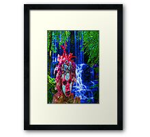 Nature Zombie Framed Print