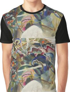 Kandinsky - Painting With White Border Moscow Graphic T-Shirt