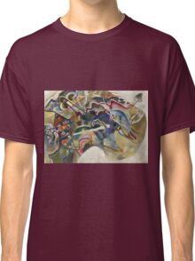 Kandinsky - Painting With White Border Moscow Classic T-Shirt