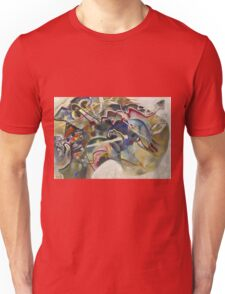 Kandinsky - Painting With White Border Moscow Unisex T-Shirt