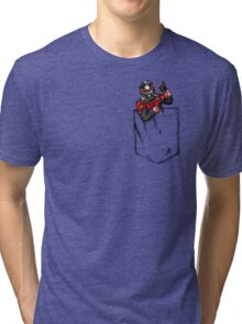 Ant Man in Pocket Tri-blend T-Shirt