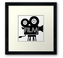 FILM - CAMERA Framed Print
