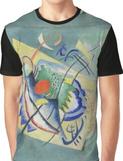 Kandinsky - Red Oval Graphic T-Shirt
