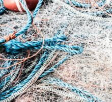 Piled Rope and Net Sticker