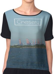 Cinesery x 2016 Spring Edition x Wave Chiffon Top