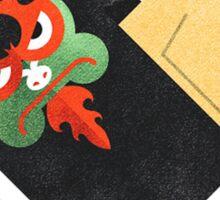 Aku & Samurai Jack Sticker