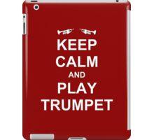 Play Trumpet iPad Case/Skin