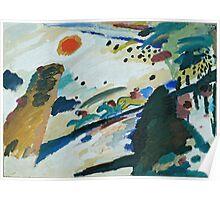 Kandinsky - Romantic Landscape   Poster