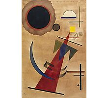 Kandinsky - Rot In Spitzform 1925  Photographic Print