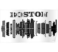 Boston City Poster