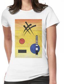 Kandinsky - Sign Womens Fitted T-Shirt