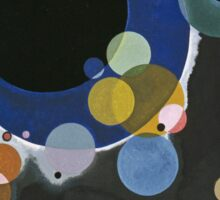 Kandinsky - Several Circles (Einige Kreise) Sticker