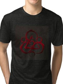 BEST COHEED & CAMBRIA RED LOGO Tri-blend T-Shirt