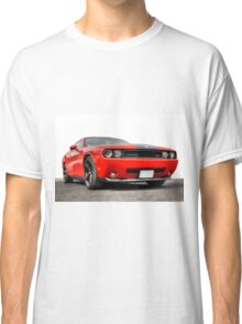 Red Dodge Challenger Classic T-Shirt