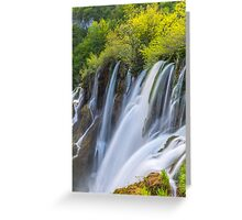 Tranquil Waterfall Greeting Card