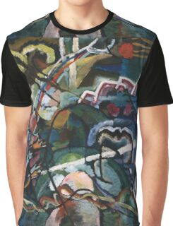 Kandinsky - Sketch I For  Painting With White Border Graphic T-Shirt