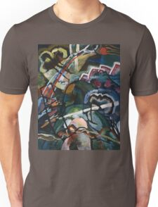 Kandinsky - Sketch I For  Painting With White Border Unisex T-Shirt