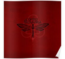 BEST COHEED & CAMBRIA RED MOSQUE LOGO Poster