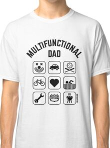 Multifunctional Dad (9 Icons) Classic T-Shirt