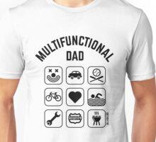 Multifunctional Dad (9 Icons) Unisex T-Shirt