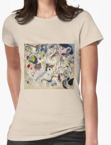 Kandinsky - Skizze Womens Fitted T-Shirt