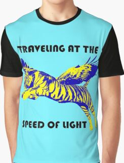 Traveling At The Speed Of Light Graphic T-Shirt