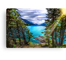 Waterton in the Woods Canvas Print