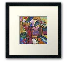 Kandinsky - Study For  Painting With White Border Framed Print