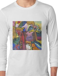 Kandinsky - Study For  Painting With White Border Long Sleeve T-Shirt