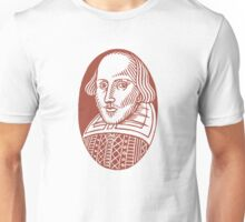 William Shakespeare Unisex T-Shirt